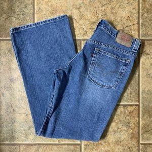Levi's Nouveau Low Slouch 526 Straight Leg Jeans
